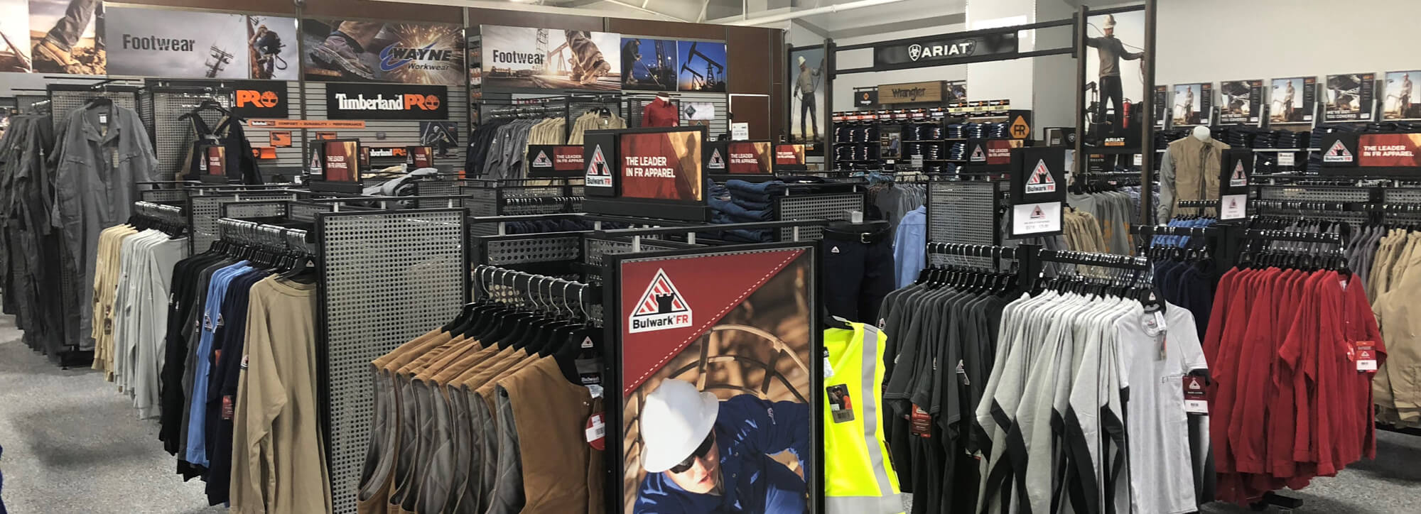 FR Clothing, Work Boot, and PPE Retail Stores | Wayne Workwear